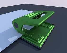 3D Hole Punch High Poly Version