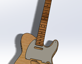 CNC Ready 52 Telecaster SS and HH 3D printable model 3