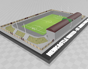 Newcastle United - St James Park 1908 3D print model