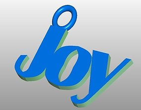 3D Joy Key Ring