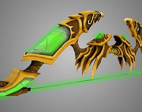 Legion Bow 3D asset