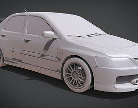 3D printable model Mitsubishi Lancer Evolution IX