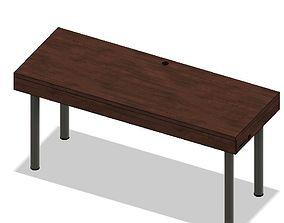 Work desk 3D printable model