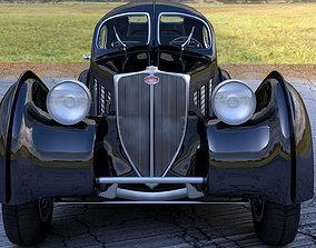 3D model bugatti atlantic
