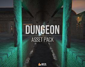 3D model Dungeon - Asset Pack - Blender and FBX