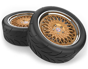 Wheel and Tire-1 3D model