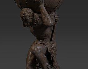 Atlas Statue 3D asset