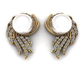 3D printable model earrings Earrings T00637