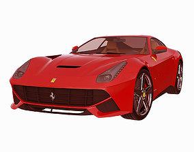 3D model Ferrari F12 Berlinetta 2013