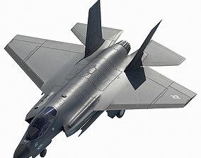 3D model F35C fighter