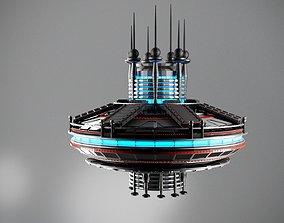 3D spaceship fantasy