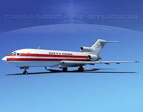 3D Boeing 727-100 Kitty Hawk