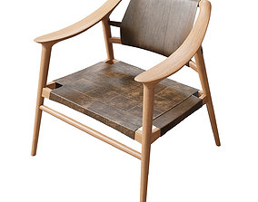 rastad Rastad and Relling Bambi Lounge Chair 3D
