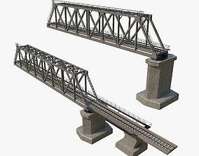 Railway Bridge 3D asset