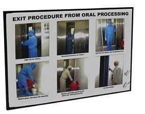 Exit Procedure Signboard 3D model