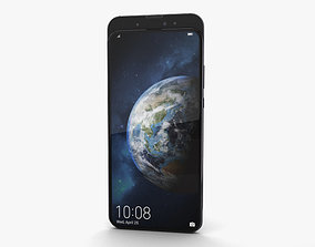 Honor Magic 2 Gradient Black 3D