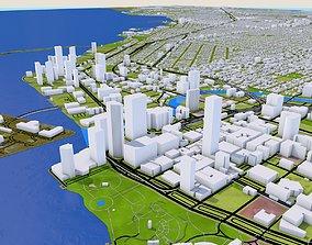 Miami City of Florida 3D asset