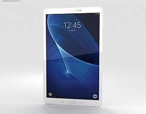 Samsung Galaxy Tab A 10-1 Pearl White 3D