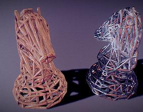 Knight 3D printable model toys
