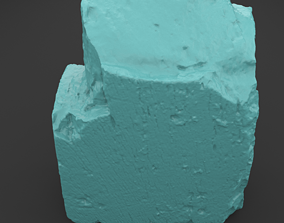 Scanned Old Red Brick 3D Print Model