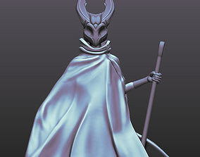 Hollow knight fanart Hornet 3D printable model