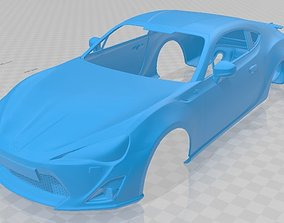 Toyota GT 86 2013 Printable Body Car
