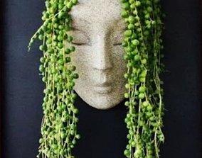 Face Woman Planter 3D print model