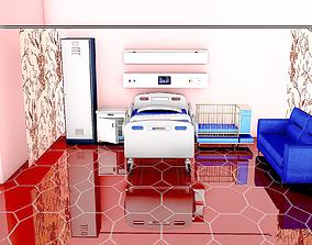 3D model Postpartum Patient Room