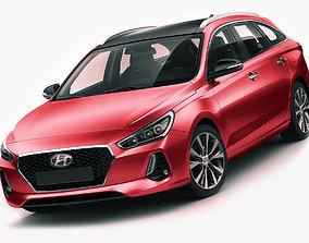Hyundai i30 Tourer 2017 3D model
