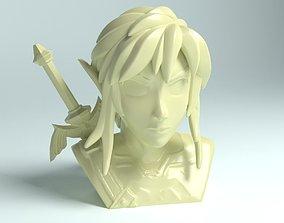 Link -Legend of Zelda- BOTW Bust 3D printable model