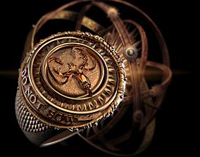 3D print model Game of Thrones Greyjoy ring