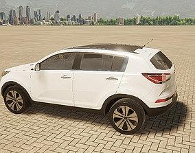 3d Twinmotion Car model- Kia Sport Age