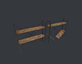 3D asset Shelfs pbr
