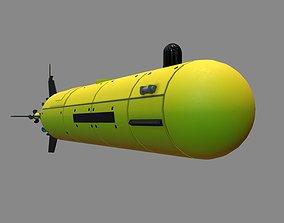 3D autonomous underwater vehicle Pilgrim