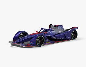 Virgin Formula E 2020 3D asset