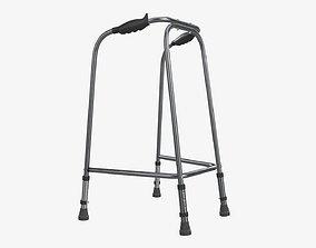Lightweight narrow walking frame 3D