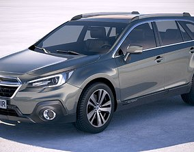 3D model Subaru Outback EU 2019