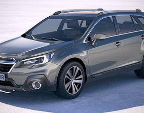 3D model Subaru Outback EU 2019