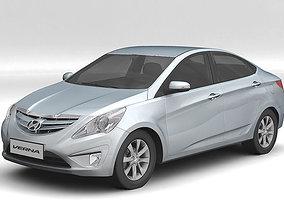 3D model Hyundai Verna 2011