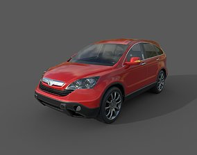 Low Poly Car - Honda CRV 2010 3D model
