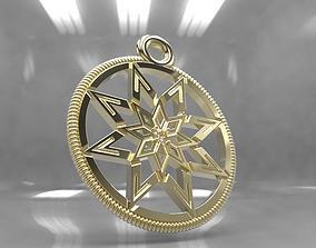 Slavic amulet 3D