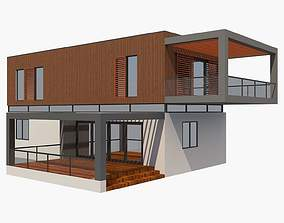 House Modern 3D Model architecture