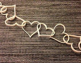 3D printable model Broken Hearts