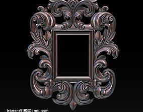 router Mirror frame 3d - CNC machine - 3D CNC