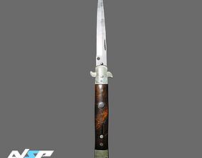 3D model Stiletto Knife CS GO Knife