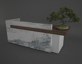 Reception Table 3D model