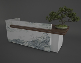 Reception Table 3D model