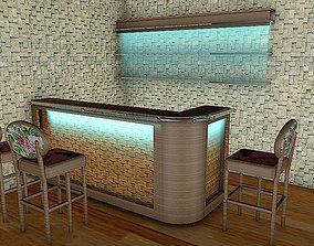 American Bar 3D model