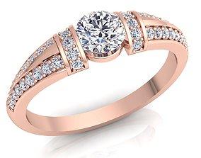 3D printable model Royal Diamond Ring