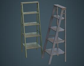 3D asset Step Ladder 1C